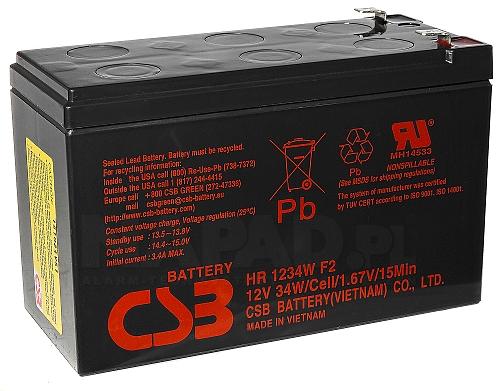Akumulator 9Ah/12V HR1234W F2