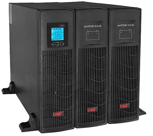 Zestaw UPS6000-RT-ON + Battery Pack BM16x9