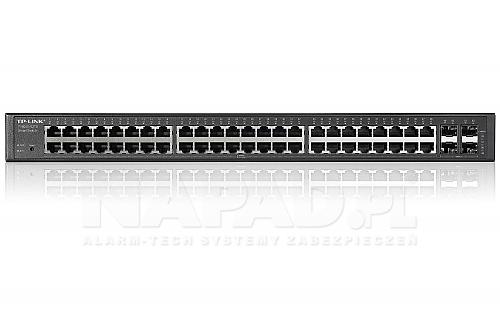 Switch gigabitowy, 48-portowy T1600G-52TS (TL-SG2452)