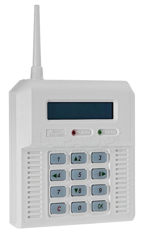 CB32GZ - Bezprzewodowa centrala alarmowa z modułem GSM