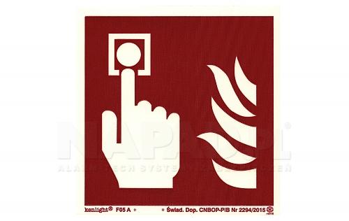Znak ochrony przeciwpożarowej A/5