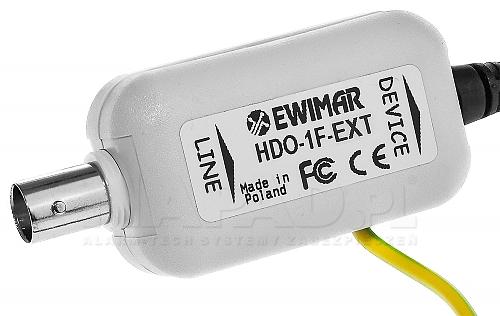 Zabezpieczenie video HDO-1F-EXT