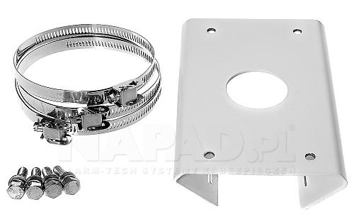 Akcesoria uchwytu do słupa Hikvision DS-1602ZJ-pole