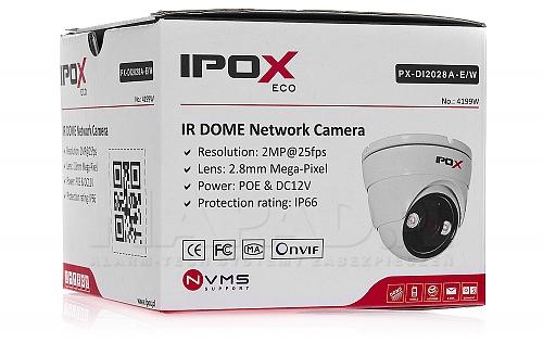 Sieciowa kamera PX-DI2028A-E/W