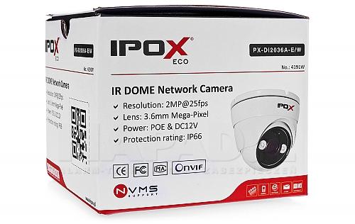 Sieciowa kamera PX-DI2036A-E/W