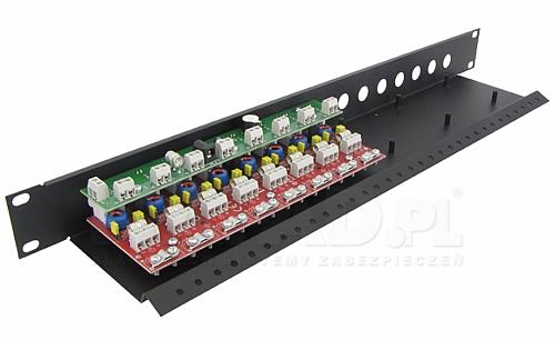 LHD-8R-PRO - Ogranicznik przepięć na koncentryk i skrętkę