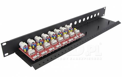 LHD-8R-EXT - Ogranicznik przepięć na koncentryk i skrętkę
