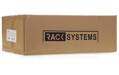 Szafa Rack 19'' 3U 400mm wisząca typu sejf W5403DZ