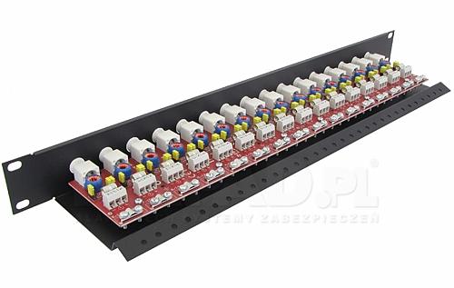 LHD-16R-PRO - Ogranicznik przepięć na koncentryk i skrętkę