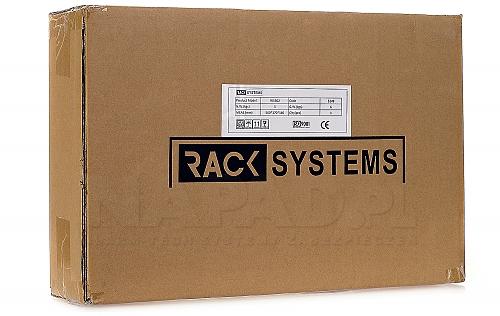 Szafa Rack 19'' 2U 120mm wisząca typu rozdzielnica W5302W