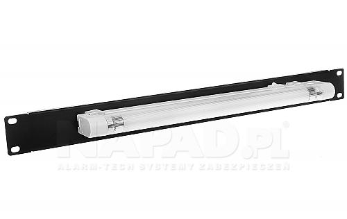 Panel oświetleniowy do szafy Rack 19'' PL8W