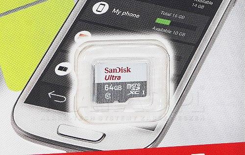 Karta microSD San Disk 64GB
