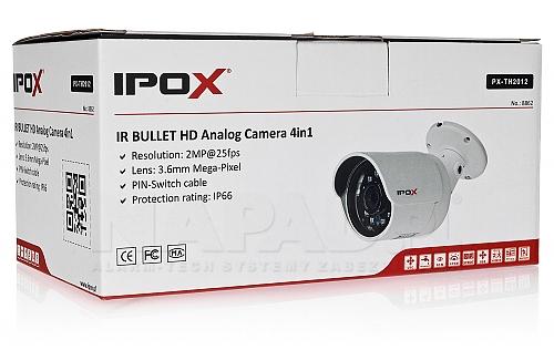 Opakowanie kamery IPOX