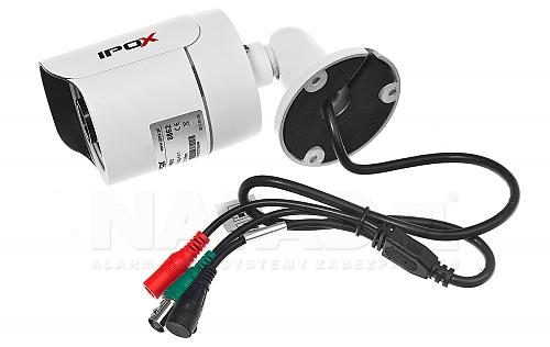 Multisystemowa kamera IPOX PX-TH2012 z obsługą systemów AHD / CVI / TVI i CVBS