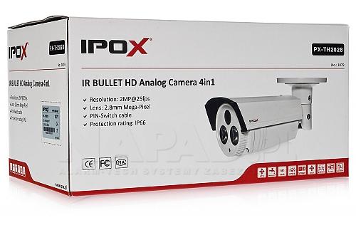 TH2028 kamera IPOX Analog HD 2Mpx