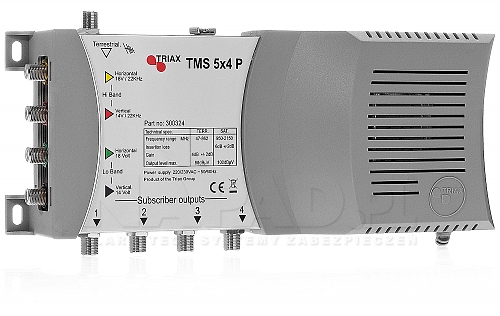 Multiswitch 5/4  TMS-5x4P