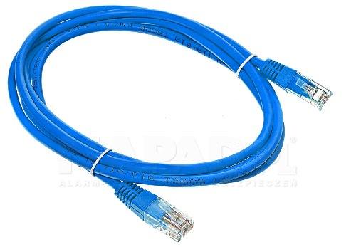 Patchcord UTP kat.6 - 2m niebieski