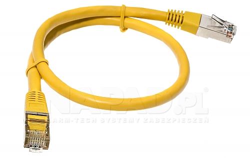 Patchcord FTP kat.5E - 0.5m