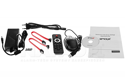IPOX PX NVR3252H - rejestrator z obsługą dysków 10TB