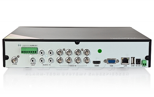Rejestrator AHD/TVI/CVBS i IP