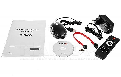 Dołączone akcesoria do rejestratora PX-HDR0421H