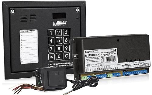 CD2502NR - Cyfrowy system domofonowy