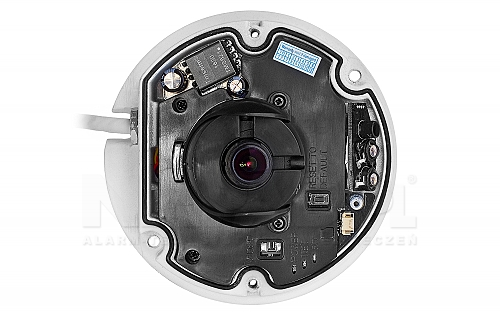Kamera mobilna ze stałoogniskowym obiektywem i oświetlaczem IR