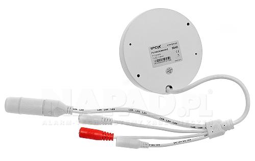 Mobilna kamera IP z we/wy audio