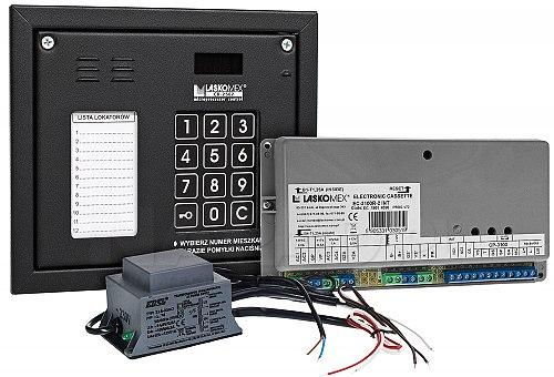 CD3100NR - Cyfrowy system domofonowy