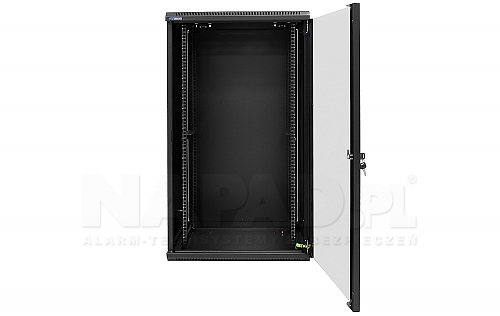Środek szafy Rack 22U 500mm W6522 czarny