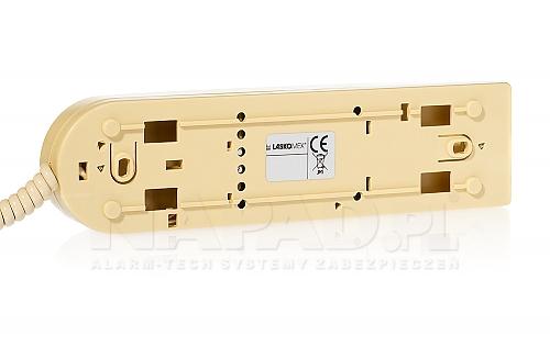 Unifon cyfrowy Laskomex  LM8/W-6 beżowy tył