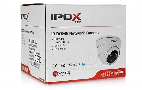 IP dome kamera PXDVI3002P