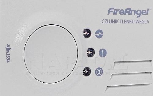 Czujka czadu CO-9X10 FIREANGEL