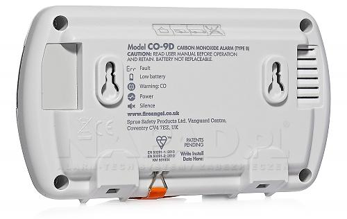 Czujnik tlenku węgla FIREANGEL CO-9D