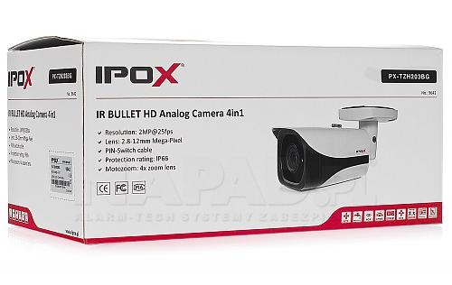 PXTZH203BG - kamera 4 in 1 IP66