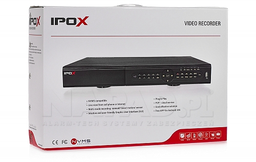PX HDR1622H - rejestrator z trzyletnią gwarancją