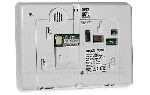 RPKELPWT000A - biała klawiatura do sterowania systemem alarmowym