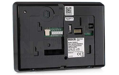 RPKELPB0000A - czarna klawiatura do sterowania systemem alarmowym
