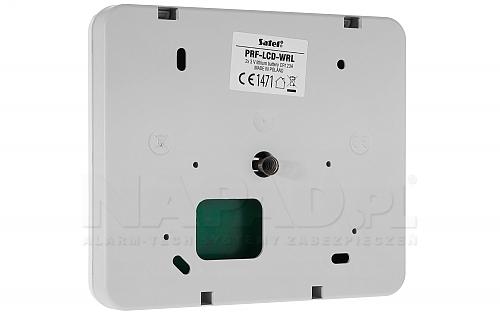 Tył manipulatora PERFECTA PRF-LCD-WRL SATEL