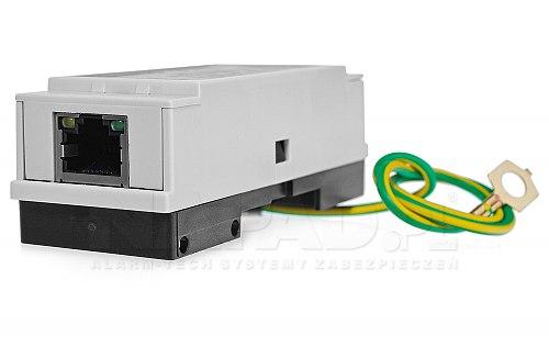 Zabezpieczenie LAN i PoE na szynę DIN PTF-1