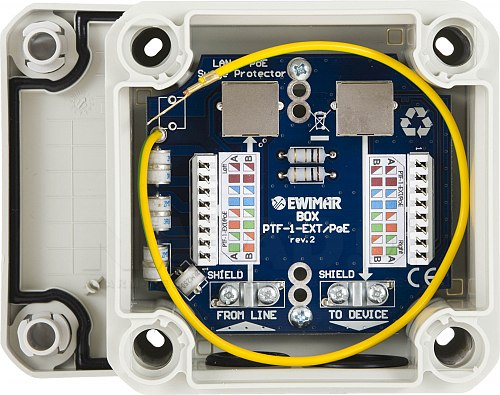 Zabezpieczenie LAN BOX PTF-1-EXT/PoE
