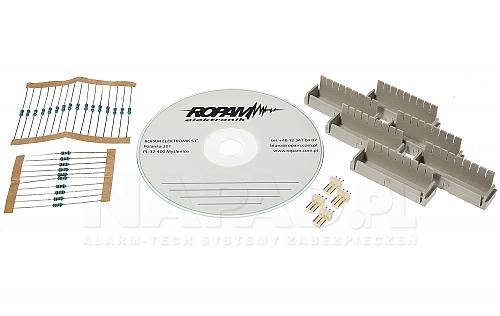 Akcesoria centrali alarmowej OptimaGSM-PS-D9M