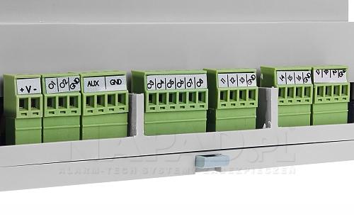 Złącza centrali alarmowej OptimaGSM-PS-D9M