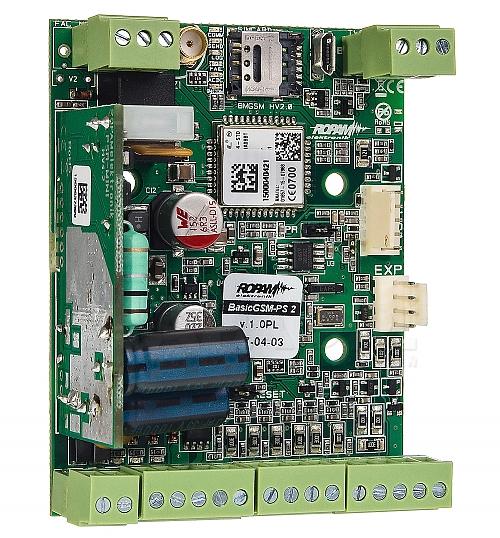 moduł powiadom. i sterowania GSM BasicGSM-PS 2