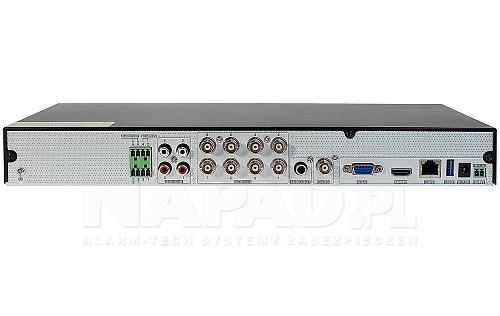 Rejestrator 12-kanałowy AHD / CVI / TVI / IP - PX-HDR0842H
