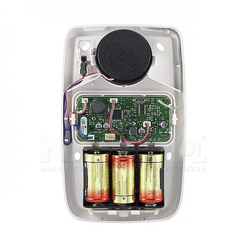 Bezprzewodowy sygnalizator zewnętrzny SR130