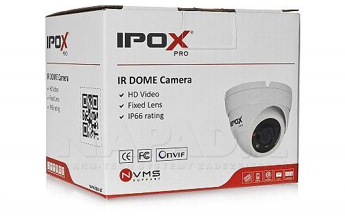 Biała kamera dome IPOX PX DIP2028 P