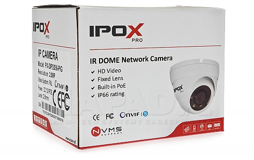 Box kamery IP IPOX