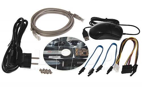 DS-7616NI-K2/16P - akcesoria dostępne wraz z rejestratorem