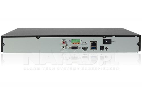 DS7616NIK2 -  rejestrator sieciowy z obsługą dwóch dysków 6TB